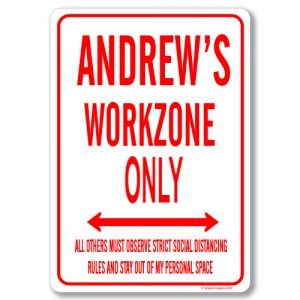 Andrews Desk Sign