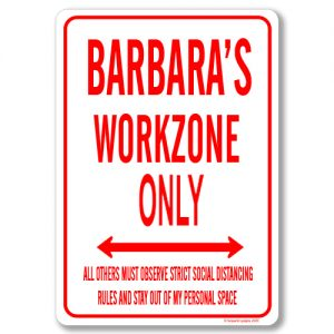 Barbara Desk Sign