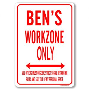 Bens Desk Sign