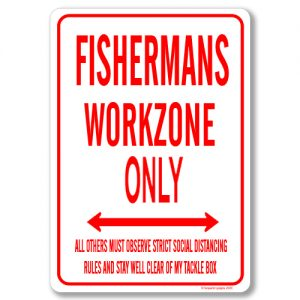 Fisherman Desk Sign